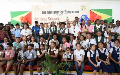 Three schools to represent Guyana at Brazil's Science Fair