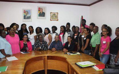 Women leadership training workshop taken to Region Six