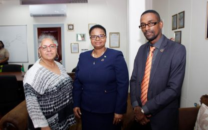 UNFPA sub-regional director pays courtesy call to Health Minister