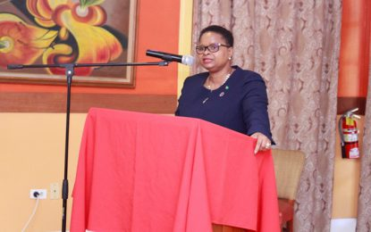 Minister Lawrence updates regional forum on Guyana's progress in combatting NCDs