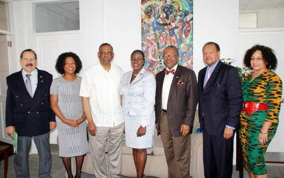 USA-Caribbean International Education Consortium engages Minister Henry on Education possibilities