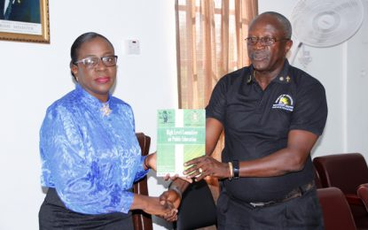 Report from High-Level Task Force handed over to Minister of Education