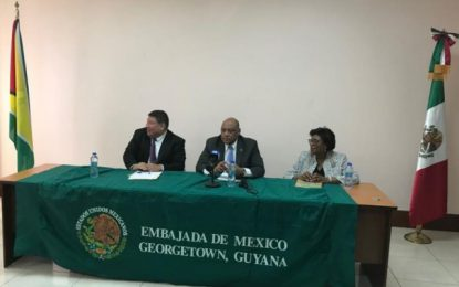 Mexico and the Ministry of Natural Resources to Partner on the Development of Spatial Data Infrastructure for Guyana