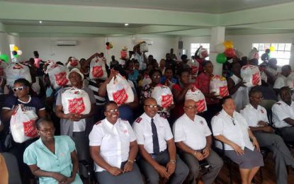 Salvation Army donates to Region Three residents