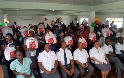 Salvation Army donates to Region Three residents