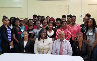 Second GWLI workshop for Region Six women leaders – part of the Government's improve women social protection and provide equal opportunities