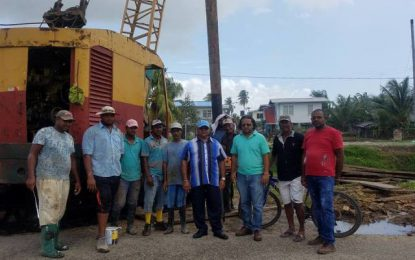 Region Three admin. inspects ongoing infrastructure projects – bridges, revetment and D&I project assessed