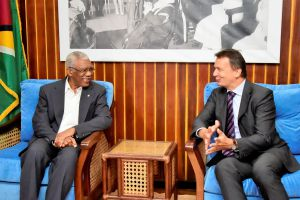 'Guyana is becoming the land of opportunities' -Swiss Ambassador to Guyana