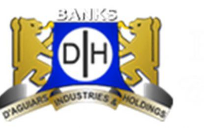 Revenue, profit, mount for Banks DIH