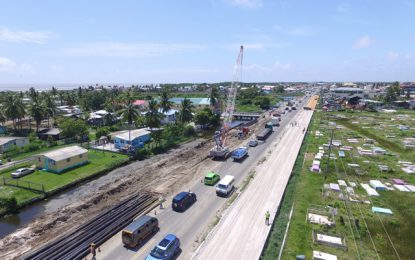 Four-lane section of ECD road project slated for completion by August