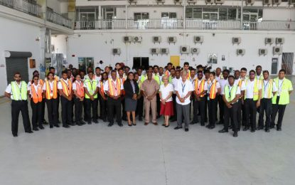 Aeronautical Engineering School applauded for commitment to safety and health