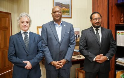 Minister Harmon meets with Repsol's Global New Ventures Director