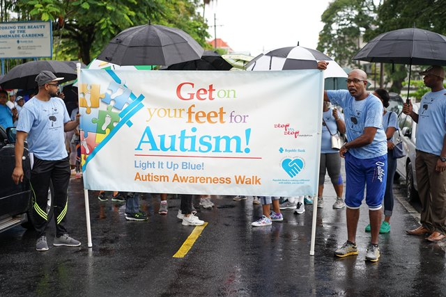 First Lady champions equal rights for people with Autism  – at Autism Awareness Walk 2018