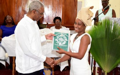 President calls on Guyanese to emulate the resourcefulness of their fore parents  -as Beterverwagting celebrates 178thanniversary