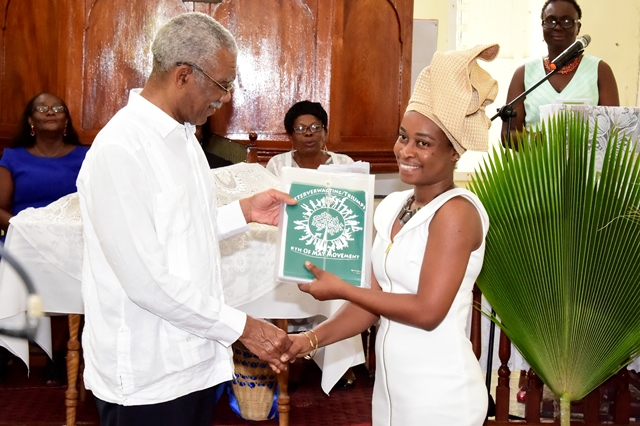 President calls on Guyanese to emulate the resourcefulness of their fore parents  -as Beterverwagting celebrates 178th anniversary