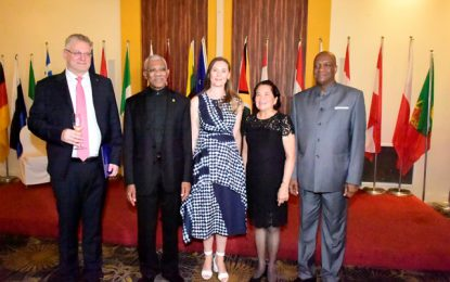 Cotonou Agreement successor must transform of ACP economies through investments, ICT  -President Granger at Europe Day reception