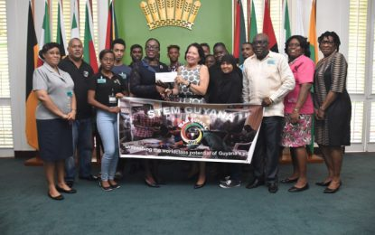 Ministry of Education pledges $6 million to STEM Guyana team