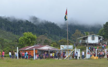Region Eight residents reassured of improved public services at flag raising ceremony