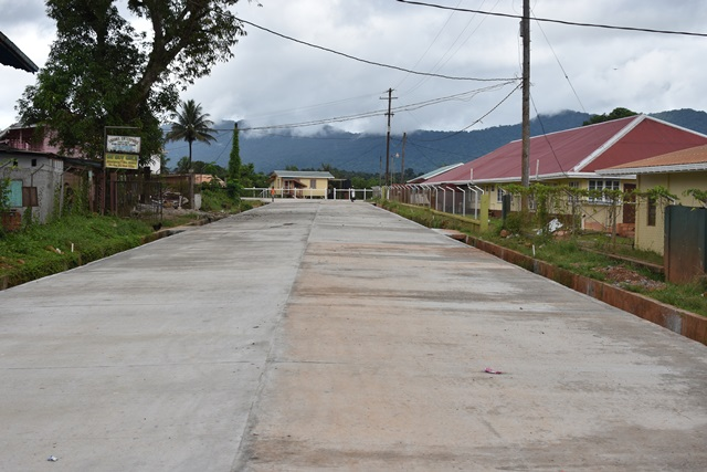 Mahdia road upgrade completed