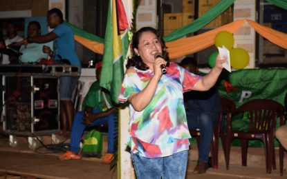 ''Take back your community''- Min. Hastings-Williams to Port Kaituma residents