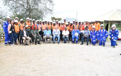 Thirty-seven persons trained in oil-spill response  -As gov't intensifies preparedness for unlikely event of an oil spill