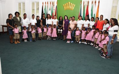 West Coast Berbice playschool tours State House