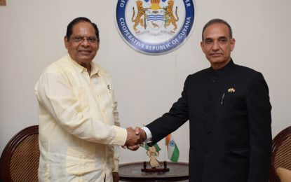 PM receives courtesy call from India State Minister