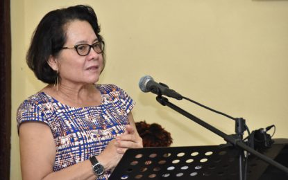 First Lady urges Guyanese to be wary of scholarship scams
