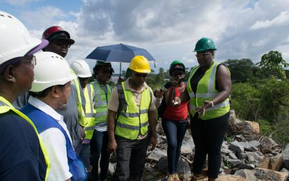 Minister Broomes to push for greater compliance in quarrying sector – glaring safety infractions uncovered during inspections in Region Seven
