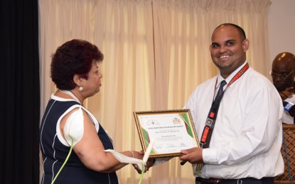 Individuals, organisations awarded for promoting safety at the workplace