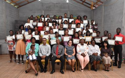 Ann's Grove women graduate Self-Reliance and Success in Business Workshop