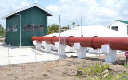 Govt remains committed to flood risk management – new pump station commissioned
