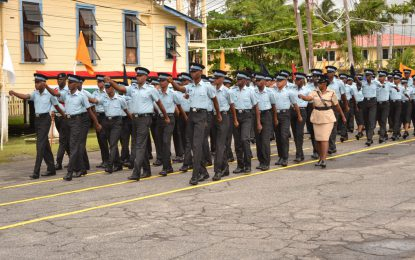 Guyana Police Force adds 150 new ranks