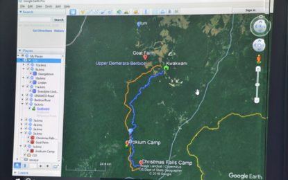 COI to visit Lindo Creek campsite