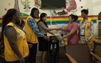 GPHC's Pediatric ward receives donation from Demerara Lioness Lions Club