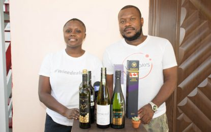 Guyanese Couple return home and make headway with mobile wine bar  -Imported varietal wines