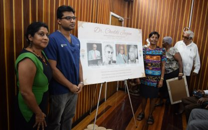 Centenarian Dr. Cheddi Jagan commemorative stamp unveiled – available for sale nationwide from May 3