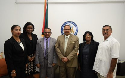 Integrity Commission pays courtesy Call on the Prime Minister