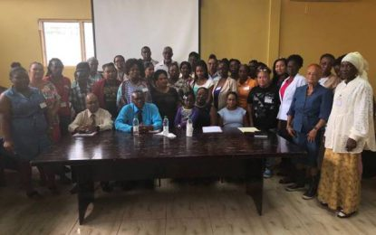 Linden women empowered to undertake local governance roles – Fourth regional GWLI workshop hosted