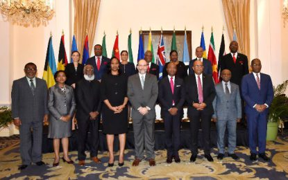 Caribbean Foreign Ministers pledge support to Guyana's sovereignty