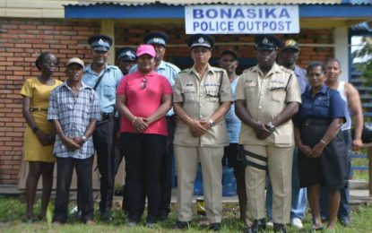 Region Three benefits from further developments – La Harmony residents receive ramp – Bonasika Police Outpost reopens