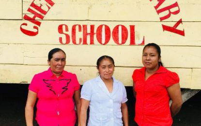 Four teachers of Chenapou Primary registered on Teachers Upgrading Programme