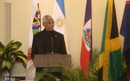 "President Granger commits to ""erecting impregnable criminal justice system"" in money laundering fight  – CFATF Judges and Prosecutors Conference gets underway"
