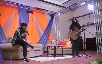 Look for the things that make us one- Soca artist Machel engages UG students