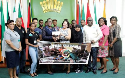 Education Ministry offers $6M support to STEM Guyana for 2018 Robotics Olympics