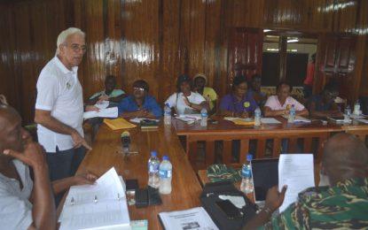 Guyana simulation exercise 2018 for Mabaruma
