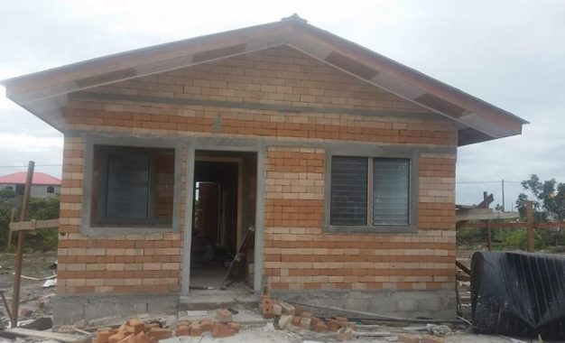LEN housing plan targets low-income earners – to build a modern two bedroom concrete house with a $3M to $3.5 M range – mortgage payments between $15,000- $20,000 – materials indigenous to Linden(Region 10) being used