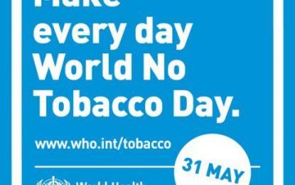 Guyana receives World 'No Tobacco' Day award