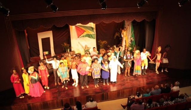 Ten Commandments of Oil – according to the Theatre Guild of Guyana