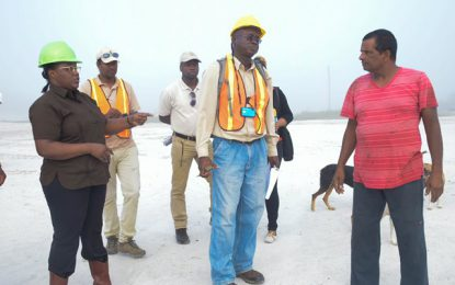 'There will be greater enforcement by GGMC to curb unsafe sandpit practices' – Min. Broomes